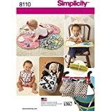 Simplicity bébé jouer Tapis/Accessoires pour poussette/et bavoirs Patron de Couture, papier