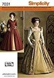 Simplicity S7031.HH Patron de Couture Robe Historique