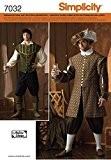 Simplicity S7032.A Patron de Couture Costume Historique