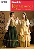 Simplicity Sewing Pattern 3808U Patrons costumes pour femme