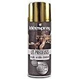 SINTO - Bombe peinture Idéespray Les précieuses - Les dorées chrome or brillant - aérosol 400 ml