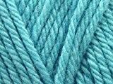 Sirdar Wool Pelote à tricoter épaisse 399Bleu Turquoise-par 100g Boule + sans Minerva Crafts Craft Guide