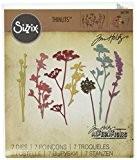 Sizzix 661190 Thinlits Die Set Matrice Fleur Sauvage par Tim Holtz Acier Carbone Multicolore 19 x 14,5 x 0,5 cm ...