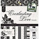 Stacks avec une vue Ps005295pile de papier 12x 1248/Pkg-everlasting Amour