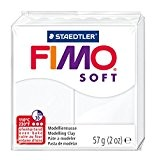 Staedtler - Fimo Soft - Pain Pâte à Modeler 57 g Blanc