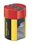 Staedtler - Noris 511 - Taille-Crayon 1 Usage avec Réservoir Cylindrique