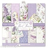 Stamperia - Papier scrapbooking assortiment lilas vintage 10f recto verso - 170 gr/m2