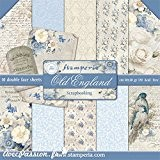 Stamperia Papier scrapbooking assortiment new england 10f recto verso 30 x 30 cm