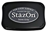 StazOn Tampon encreur solvant Gris