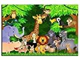 Tableau enfant Les animaux d'Afrique - TOP VENTE