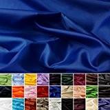 Taffetas de soie - tissu universel en 27 couleurs - tissu de doublure - décoration - vendue au mètre (royal)