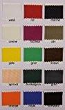 Taffetas de soie - vendu au mètre - 15 couleurs - Taffetas - tissu de doublure - Décoration (crème)