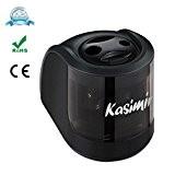 Taille Crayon Electrique Kasimir 2 Trous Batterie Electric Operated Automatique Machine (6-8 mm et 9-12 mm) Rapide Pratique Idéal Pour ...