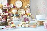 Talking Tables TS4-MINI-DOILY Truly Scrumptious Mini Napperon Papier/Carton Multicolore 12 x 14 x 1 cm Lot de 100