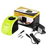 Tepoinn Batterie/2 Trous Taille-Crayon Electronique Chargé par/Batterie alimentation électrique 2 trous de taille différente Aiguiseur