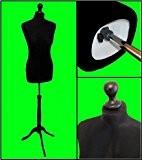 The Shopfitting Shop Buste couture féminin avec support Noir Taille 38-40