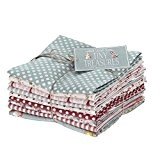 Tilda Coupons Tissu Fat Quarter Lot - par lot de 9