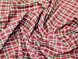 Tissu en coton robe tartan carreaux vin/Olive/sable/bleu marine-par mètre + sans Minerva Crafts Craft Guide