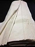 Tissu Toile À Patron 100 % Coton Naturel 180 Gr Couture Largeur 160 Cm