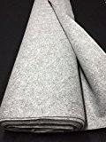 Tissus FEUTRINE largeur 180 cm GRIS SOURIS MELANGE CHINE deco loisirs creatifs au metre