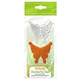 Tonic Studios 1040e Set de Matrice + Tampon Butterfly Felicity Multicolore