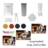 TrendLight 860491 Kit de loisirs créatifs pour fabriquer ses propres bougies