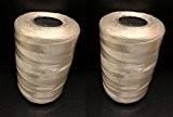 Très résistante à couture Quilting Machine robuste fil ficelle Bobine-environ 1000m de chaque bobine. buy1obtenir 1Gratuit. (Blanc)