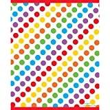 Unique Party - 47123 - Paquet de 8 Pochettes - Cadeau Fête Arc-En-Ciel