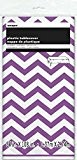 Unique Party - 50375 - Nappe - Plastique - Motif Chevron - 2,74 x 1,37 m - Violet