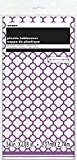Unique Party - 50422 - Nappe - Plastique - Motif Quadrilobé - 2,74 x 1,37 m - Violet