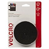 "Velcro(R) marque BACK(R) STICKY Tape 3/4 ""X 5""-noir"