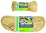 Verdemax 4592Bobine de raphia naturel 50g