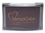 VersaColor Pigment tampons d'encre Tsukineko Pad, marron