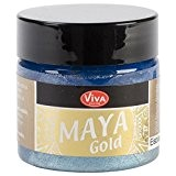 Viva décor Maya Gold 50ml-Ice Blue