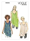 Vogue 9005 Patron de couture Haut pour femme Tailles L/XL/XXL