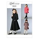 Vogue Patterns 9043 CL Children's Veste pour fille