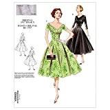 Vogue Patterns v29036-8-10Patrons de robe/robes pour femme Taille A