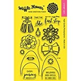 "Waffle Flower Crafts Clear Stamps 4""X6""-First Step"