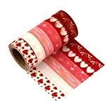 Washi Tape Masquage Ruban Masking tape - LATH.PIN 6 rouleaux Washi Tape Masking tape- Ruban Adhésif Papier Décoratif - 15mm ...