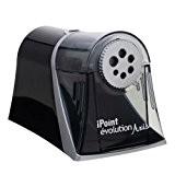 Westcott E-15510 00 iPoint Axis Taille-crayon électrique avec système d'arrêt automatique Gris/noir