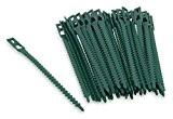 Windhager Attache-plante, vert, 140mm, lot de 50
