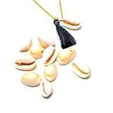 X10 pendentifs coquillage 7~22x11~16x9~11mm trou 1 mm pour déco DIY, activité créative, bijoux