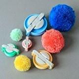 Y & B 4tailles Pompon pour Pompon Maker peluches boule DIY laine à tricoter Craft Outil de