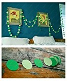 YARBAR circle points papier garland (13 pieds) mariage fête baby shower tableau décoration