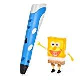 YESTECH 3D Stylo pen Imprimante à Peindre Impression Stéréoscopic Printing Pen avec ABS Filament Multi-couleur Pour Artisanat 3D Enfant ,Cadeaux ...
