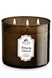 1 X Bath & Body Works Mahogany Teakwood Scented Candle 14.5 Oz - 3 Wick