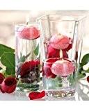 10 Bougies flottantes au parfum de rose