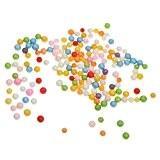 10g Pack Mini Balles en Mousse de Polystyrène Coloré pour DIY Décoration Boule Mixte Taille 3-10mm Multicolore