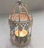 11cm Mini Vintage Cage D'oiseau Décoration avec Optionnel Pendant Plate-forme - Idéal Pour Souvenirs De Mariage, Sapin De Noël Ornements ...