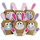 12 DIY Lapins de Pâques à fabriquer et remplir soi-même- un cadeau qui vient du cœur - pour enfants à ...